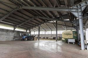 modular garage tent / multi-purpose / steel frame