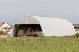 hay storage tunnel