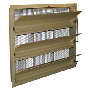 air inlet for livestock buildings