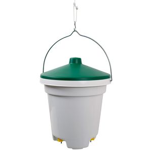 poultry waterer / bell / plastic / with nipple drinker