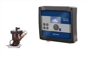 programmable milking point controller / with shut-off clutch