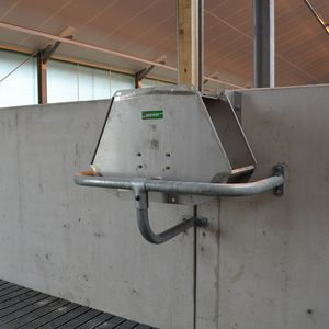 cow drinker / trough / stainless steel / multi-access