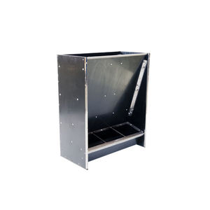 pig hopper feeder / polyethylene / stainless steel