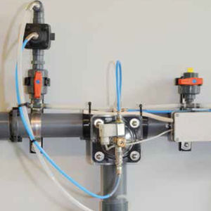 feed valve / regulating / plastic