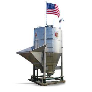 vertical fertilizer blender