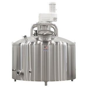 milk tank / stainless steel / steel / with cooling system