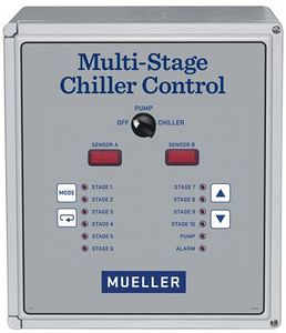 milk cooling temperature controller / programmable / with alarm