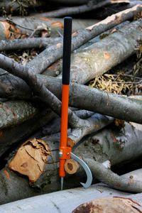 manual log turner