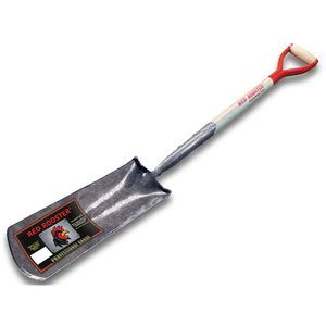 spade with wooden handle