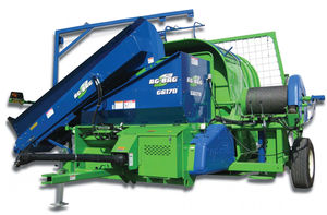 silage press with grinder