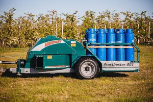 trailed frost protection machine / for open fields / for orchards / for vineyards