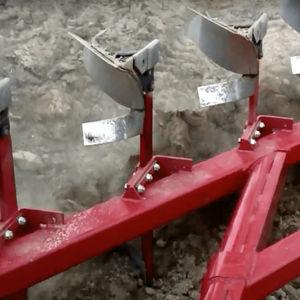 mounted plow / reversible / furrow