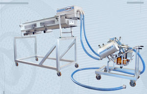 2-channel fish grader / with pump