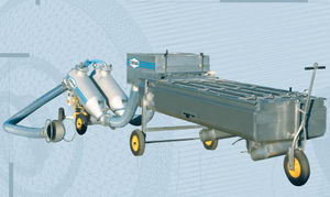 5-channel fish grader / with pump