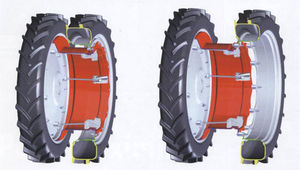 tractor rim / dual mount / disassemblable