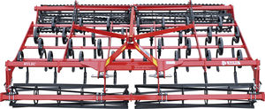 mounted field cultivator / with roller / 3-point hitch / rigid tine