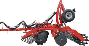 mounted disc cultivator / 2-section / 3-point hitch / with roller