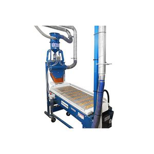 seed sorting machine / rotary drum / seed length
