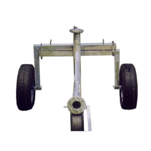 irrigation cart with wheels / fixed