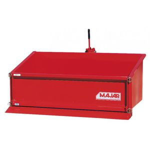 tipping mounted transport box