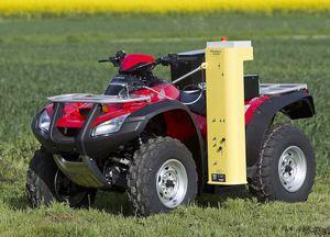 ATV-mounted soil sampler / automatic