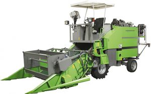 forage plot harvester / self-propelled / for research