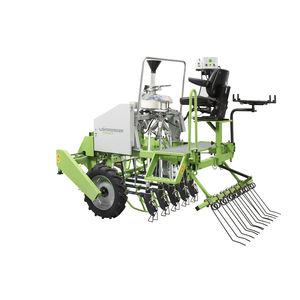 mechanical plot seeder / 5-row
