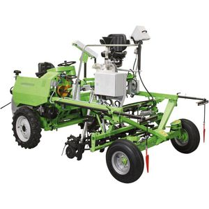 mechanical plot seeder / 3-row
