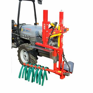 mechanical shoot remover / 1-row / with hydraulic adjustment