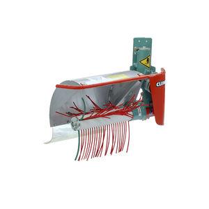 mechanical stem brush