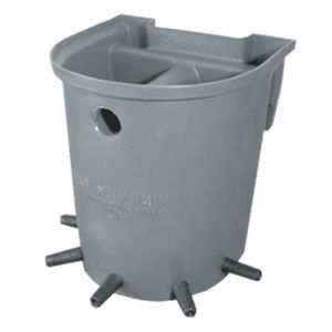 lamb nursing bucket / foal / for calves / plastic