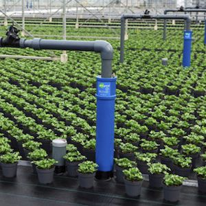 cultivation floor sub-irrigation system
