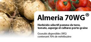 selective herbicide / against adventitious / granular / leaf