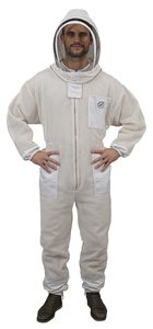 beekeeper coveralls / fabric / synthetic / leather