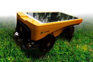 mowing farm robot / solar-powered / autonomous / vineyard