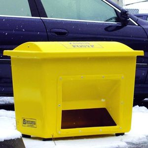 mineral material storage bin / fiberglass / galvanized