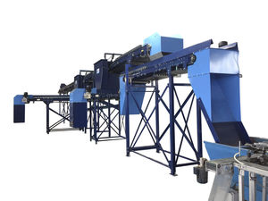 stationary soil mixing machine
