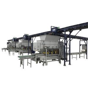 semi-automatic handling system