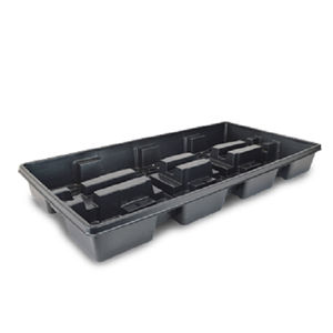 irrigation water collection tray