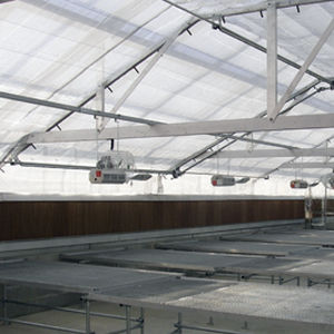 greenhouse hot air curtain / ceiling-mount