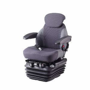 seat with mechanical suspension