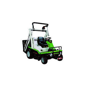 riding lawn mower / diesel / collecting