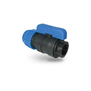 irrigation valve / control / manual / plastic