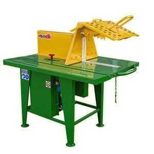 circular sawmill / vertical / electric