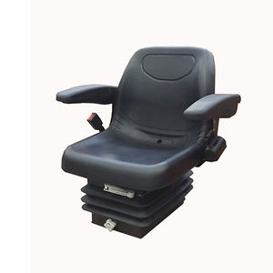 seat with pneumatic suspension