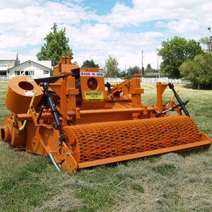 mounted turf cutter
