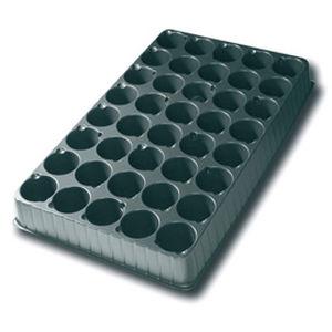 plastic plug tray / recyclable / rectangular