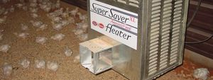 infrared heater with legs / gas