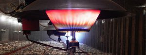hanging infrared heater
