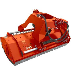 offset mulcher / mounted / knife / hammer